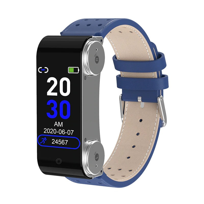 3 in 1 Smart Watch with Earbuds and Blood Pressure Monitor
