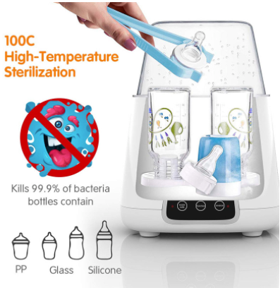 Baby Bottle Sterilizer One step Dryer Sanitizer and Warmer