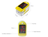 Image of Digital Oximeter Finger Pulse Oximeter Medical Equipment Portable Monitor