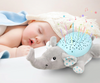 Image of Baby Sleep LED Lighting Stuffed Animal Led Night Lamp Plush Toys With Music & Stars Projector Light