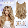 Image of Invisible Halo Hair Extensions