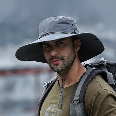 Fashion Summer Sun Hats for Men Outdoor Hunting Fishing Hat