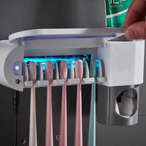 Toothbrush Sterilizer, Sanitizer Holder and UV Desinfection