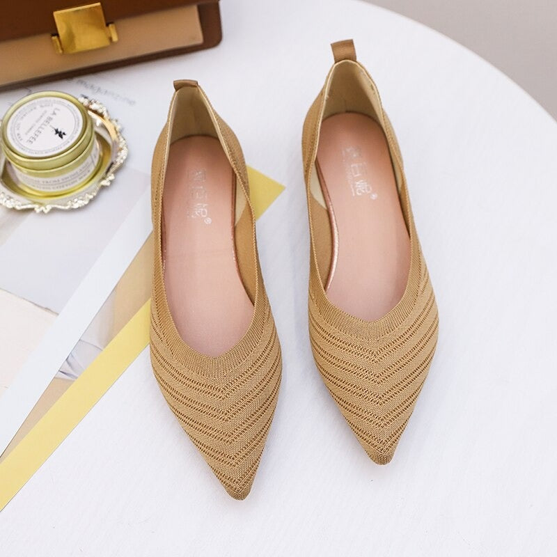 Comfortable flats shoes for women Slip on Point