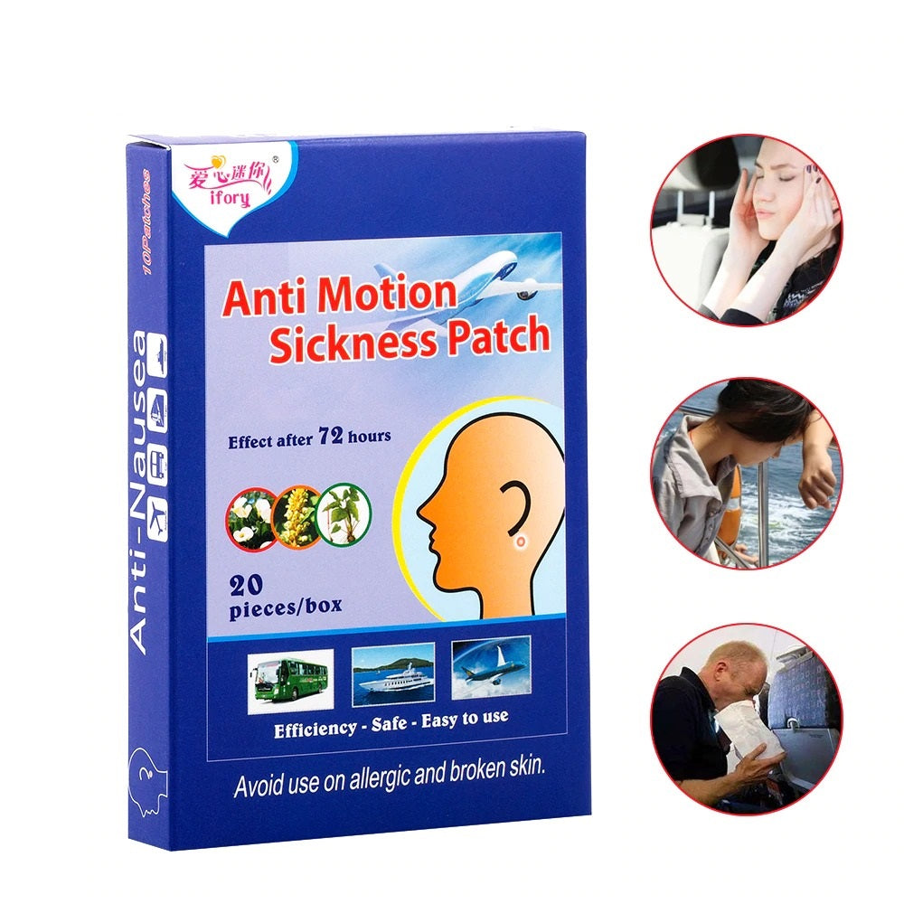 20 Pieces/Box Motion Sickness Patch Behind Ear