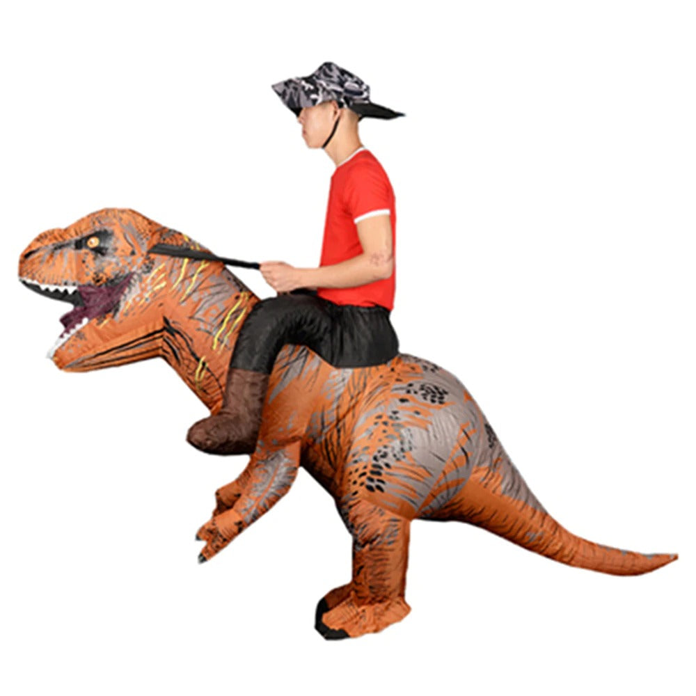 Mascot Inflatable Dinosaur Costume T REX