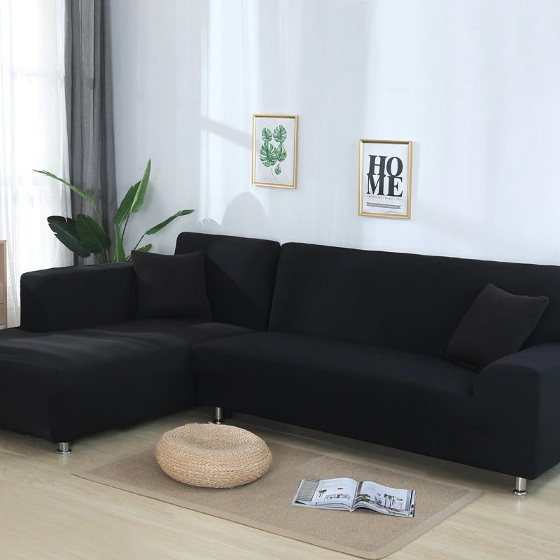 Solid Stretchable Sofa Covers differen sizes and colors