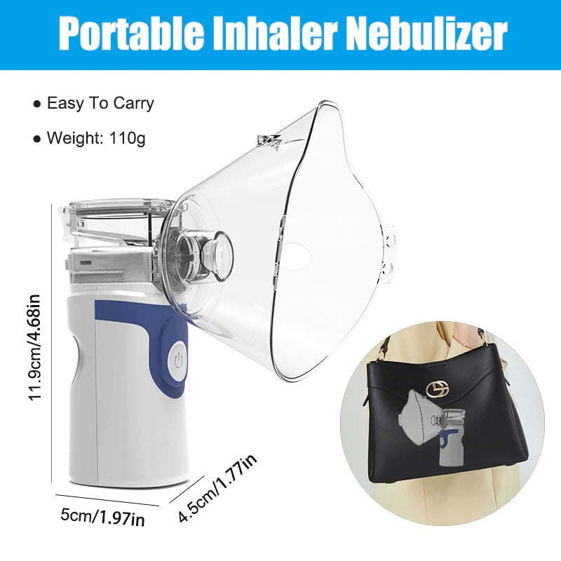 2 ml Portable Essential Oil Nebulizer Diffuser With Battery