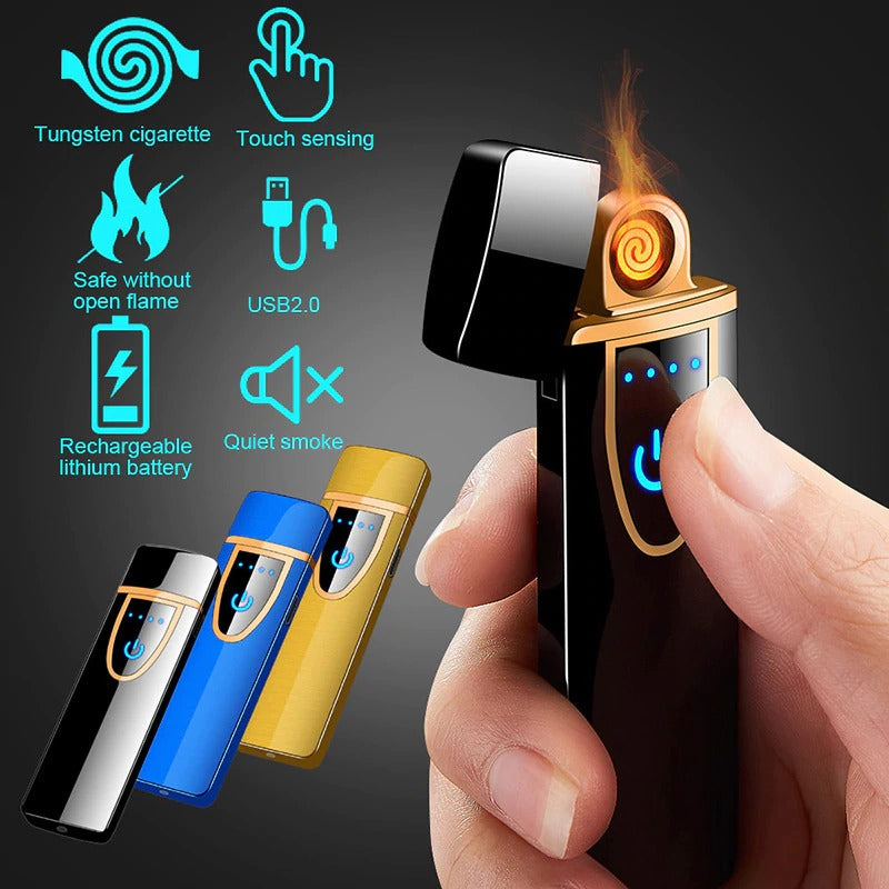 Flameless Rechargeable Cigarette Lighter USB Rechargeable Lighter