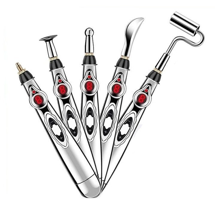 5 Heads Electronic Acupunture Pen