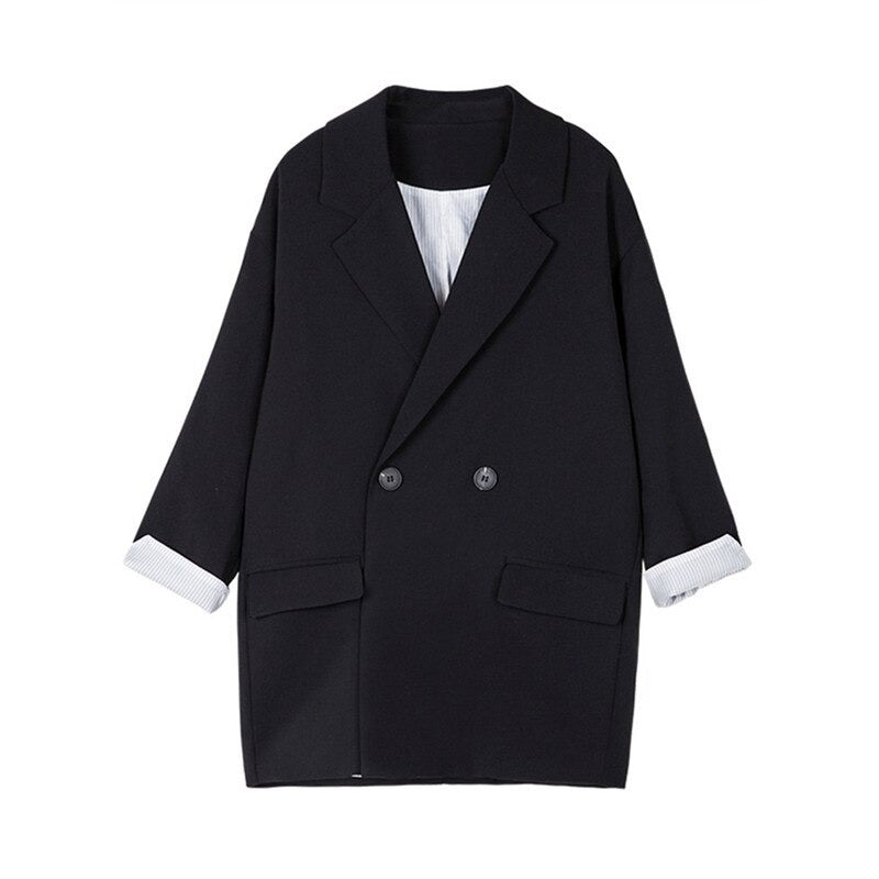 Casual Loose Women Blazer Jackets Evenin Jacket