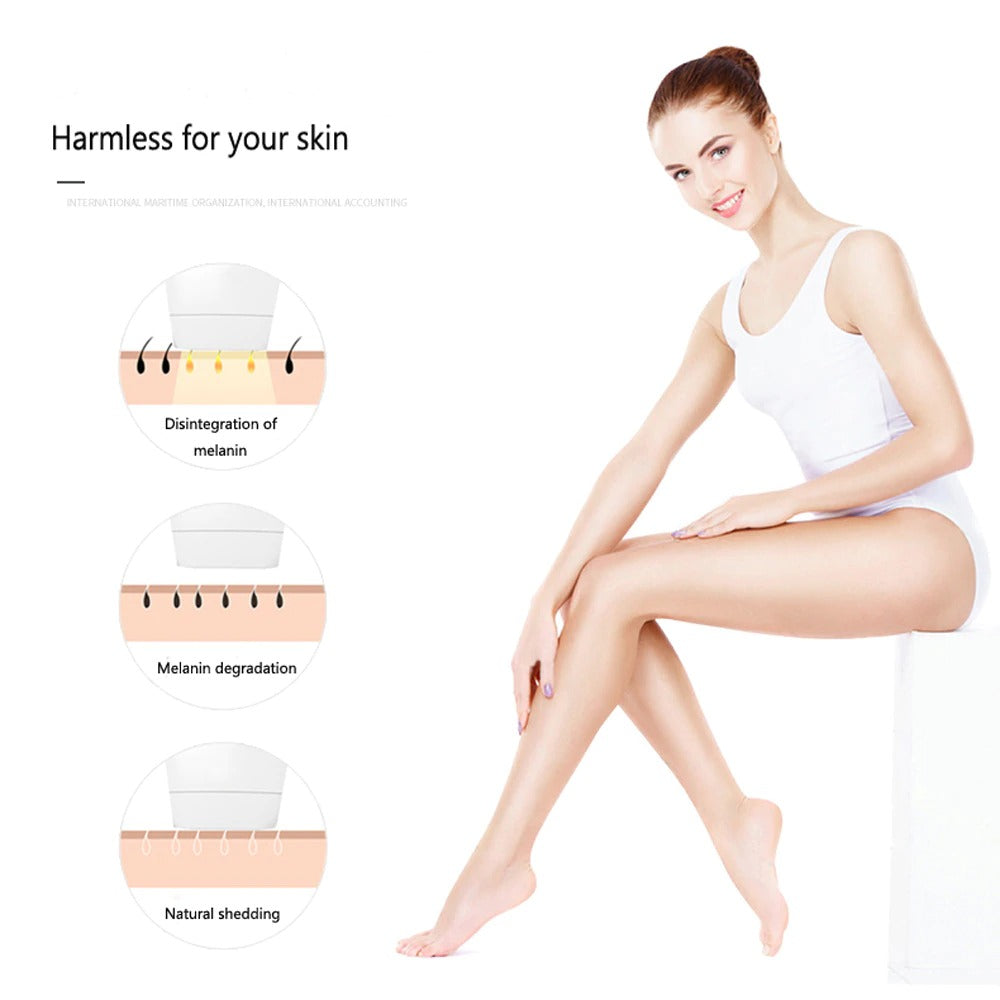 IPL Laser Hair Removal Handset With 500000 Flashes