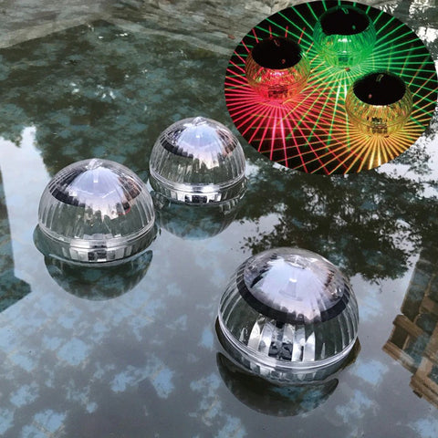Solar Powered LED Floating Pool Lights
