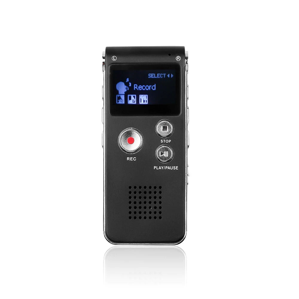 16 Hour Thin Voice Activated Recorder Pen Tape Recorder