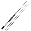 Image of Spartacus Rod Carbon Body Casting Fishing Rod With 2 Rod Tips 1.98M