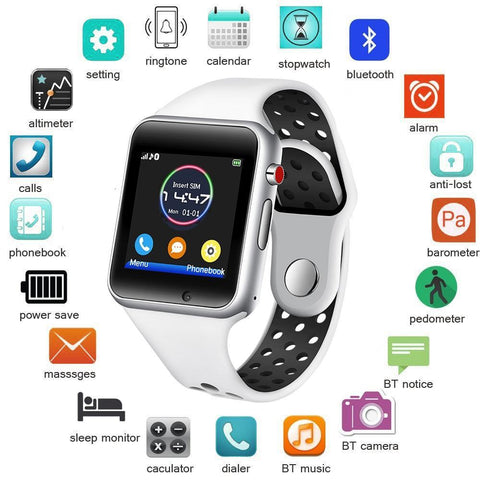 Android Wear Smart Watch - Balma Home