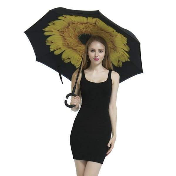 Upside Down Reverse Double Skin Umbrella