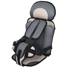 Child Secure Seatbelt Vest - Portable Safety Seat Gray