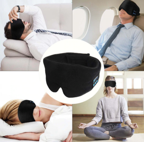 WIRELESS CALL SLEEP HEADPHONES – SLEEPING NOISE CANCELLING HEADBAND