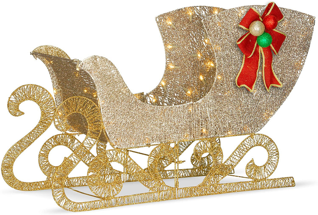 Christmas Lighted Splendor Sleigh