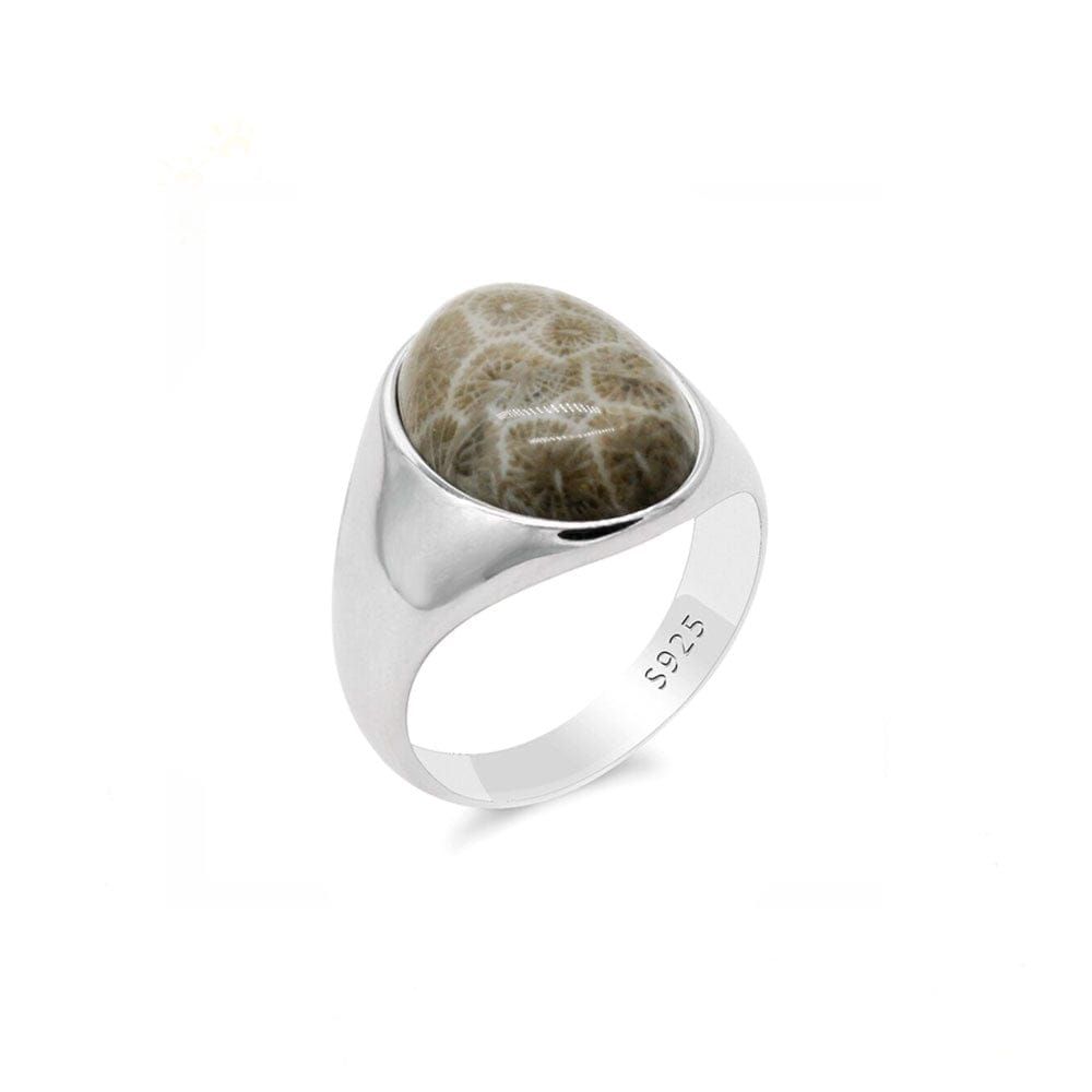 Bague <br><b>Corail Fossile</b></br>