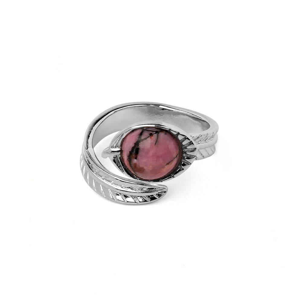 Bague Plume <br><b>Rhodonite</b></br>
