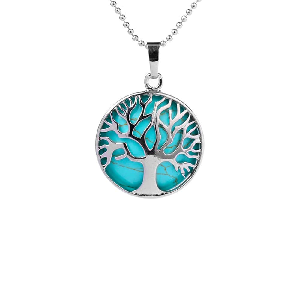 Collier Turquoise Femme