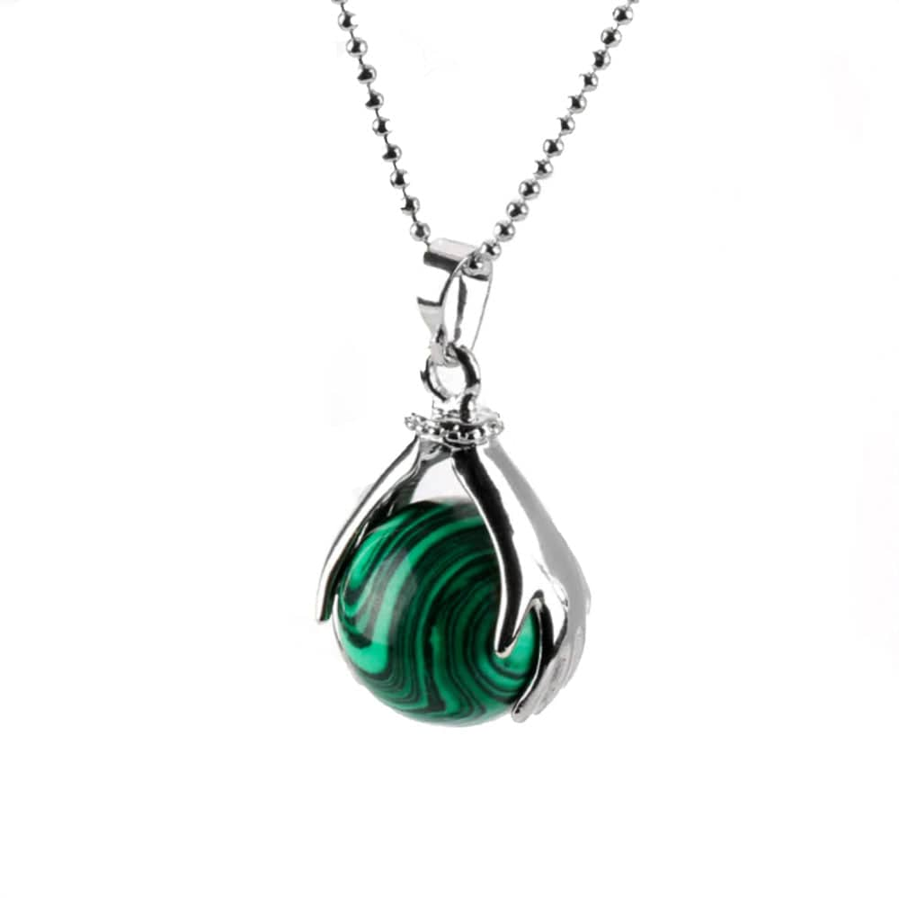 Collier Main <br><b>Malachite</b><br>
