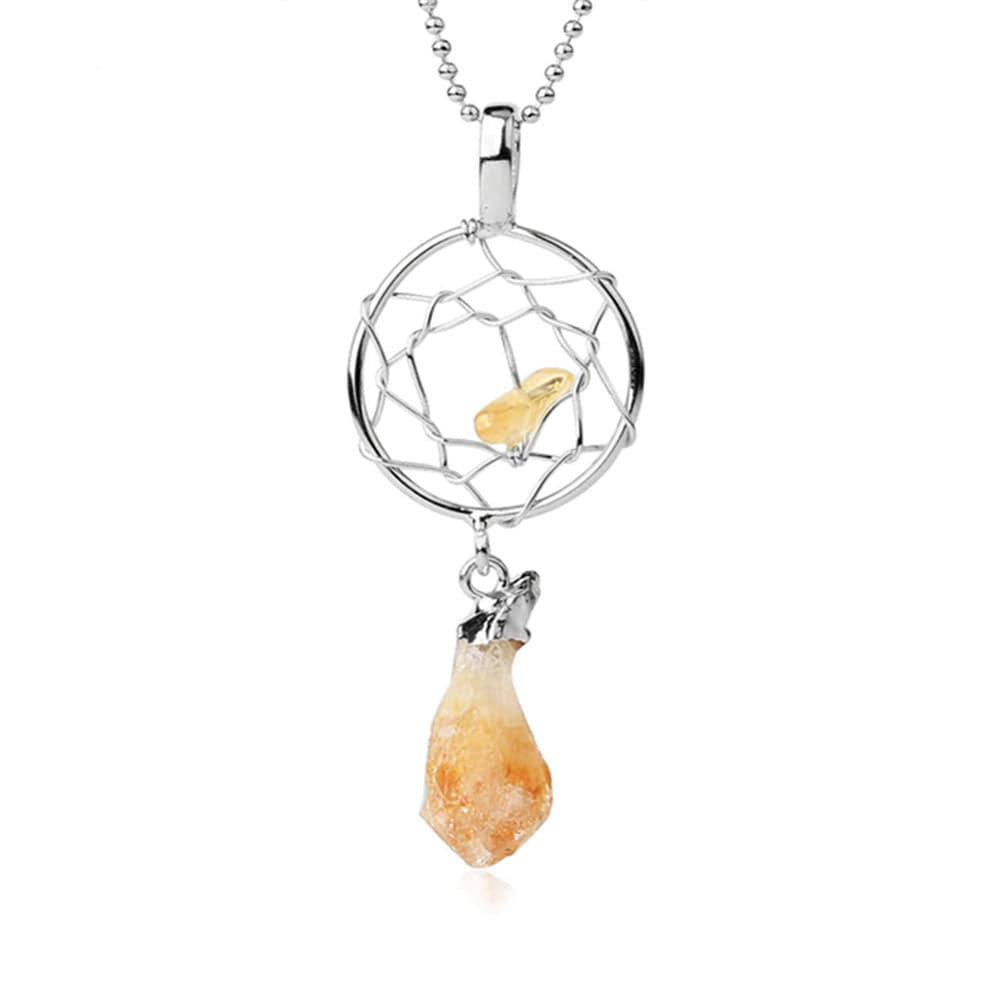 Collier Attrape Rêve <br><b>Citrine</b></br>