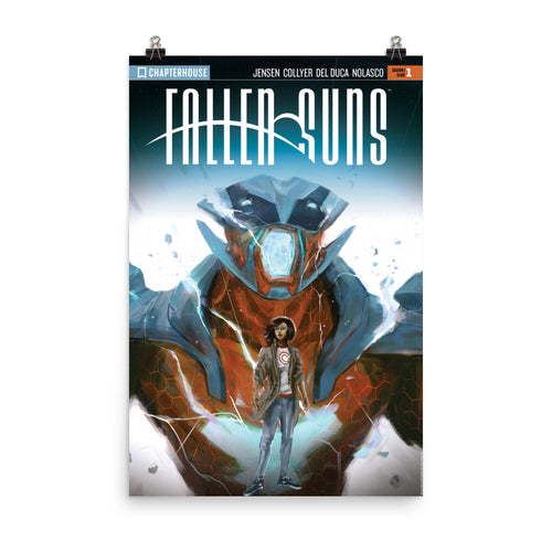 Fallen Suns Season 1 Issue 1 Poster