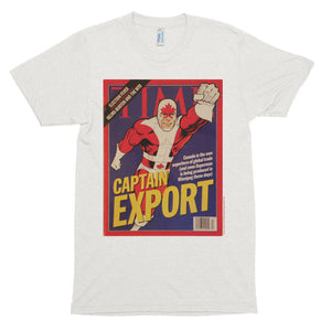 Classic Captain Canuck Time Magazine Feature T-Shirt