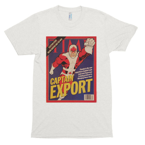 Classic Captain Canuck Time Magazine Feature T-Shirt (Womens)