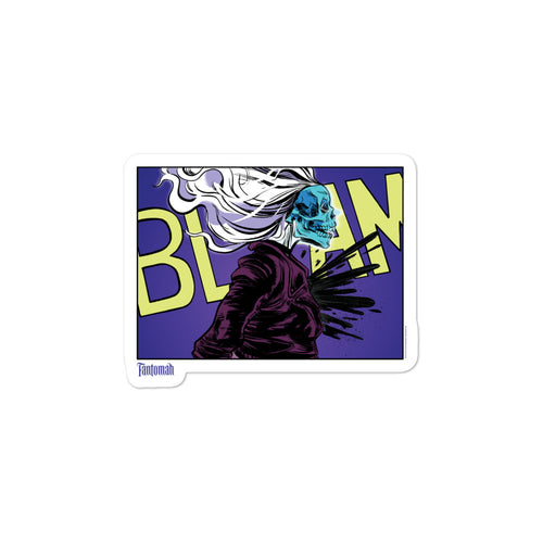 Fantomah BLAM Panel Sticker