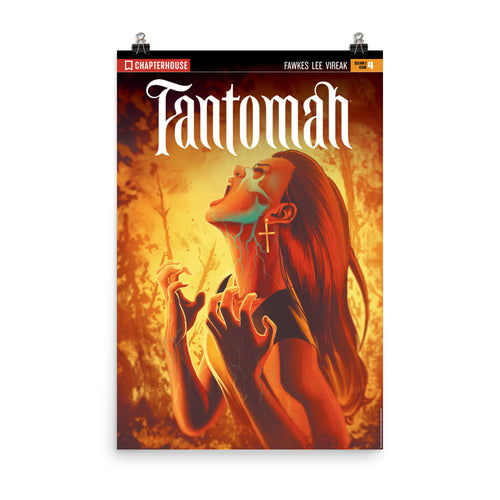Fantomah Season 2 Issue 4 Poster