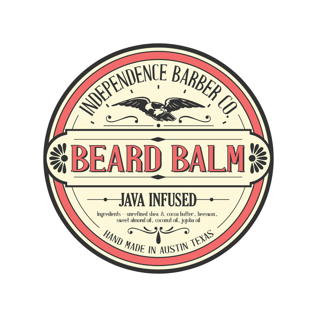 independence barbershop beard balm