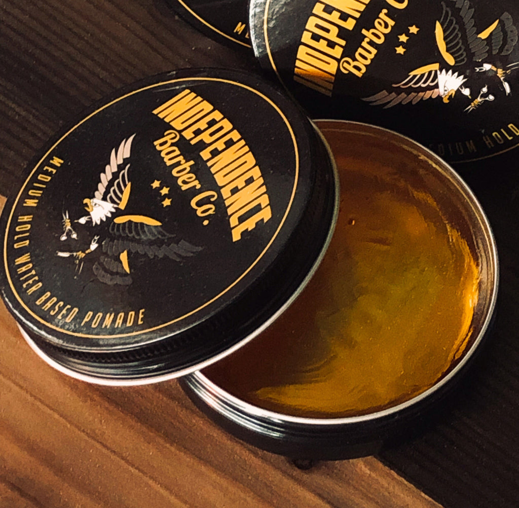 independence barber co pomade