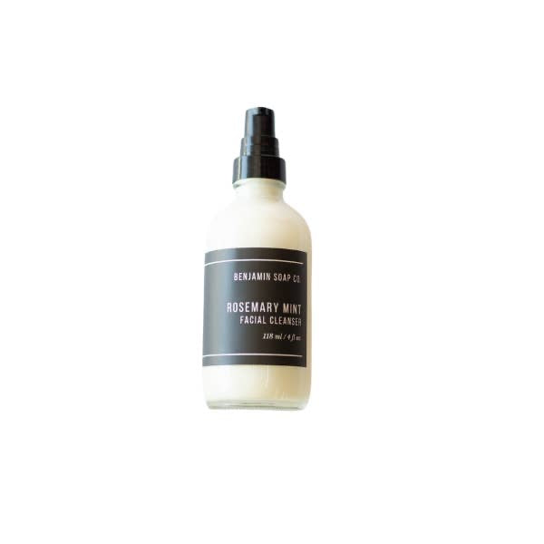 Benjamin soap co. vegan face cleanser