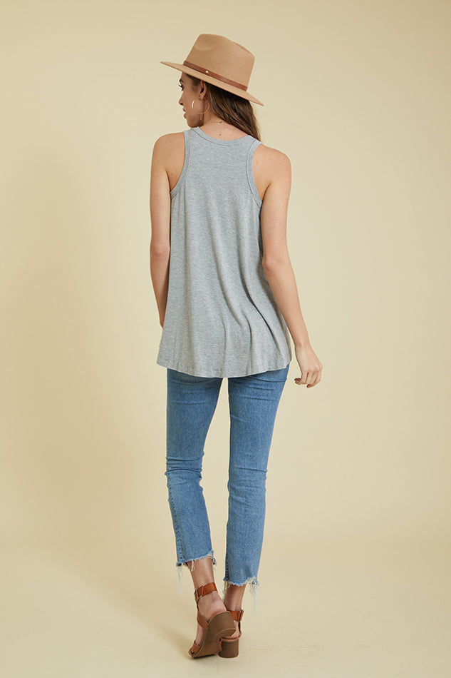 Super Soft Bamboo Swing Tank