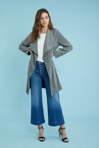 Heathered Waterfall Jacket