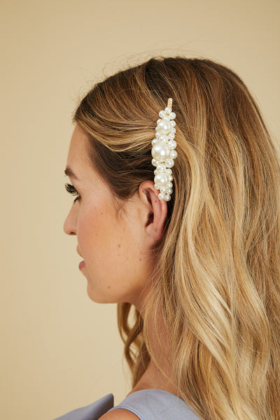 Bubble Pearl Barrette