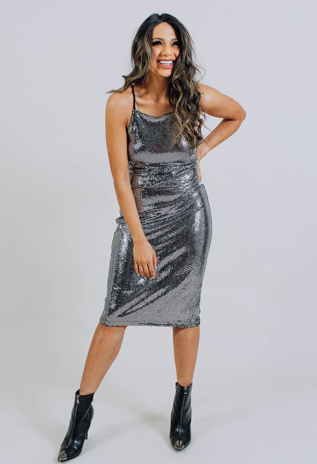 Disco Slip Dress