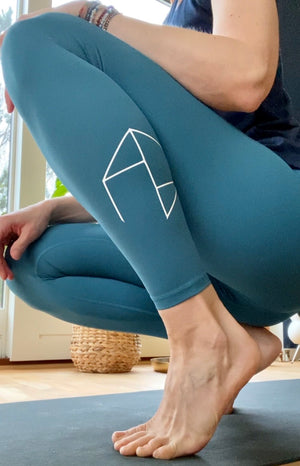 Load image into Gallery viewer, Feel Loved Legging - Azurblå