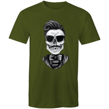 Load image into Gallery viewer, Dapper Skull Mens Tee - Darks & Brights - Front Print