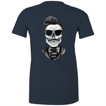 Load image into Gallery viewer, Dapper Skull - Fitted Tee - Dark & Brights