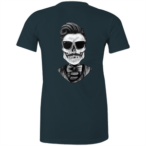 Dapper Skull - Fitted Tee - Dark & Brights