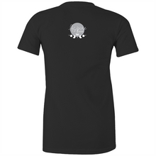 Load image into Gallery viewer, Sugar Skull dark fitted tee front print