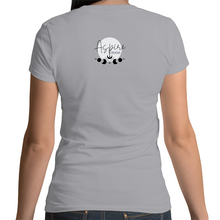 Load image into Gallery viewer, Dapper Skull Scoop Neck Tee - Front print