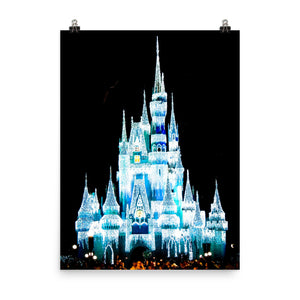 Magic Kingdom Photo Print Poster