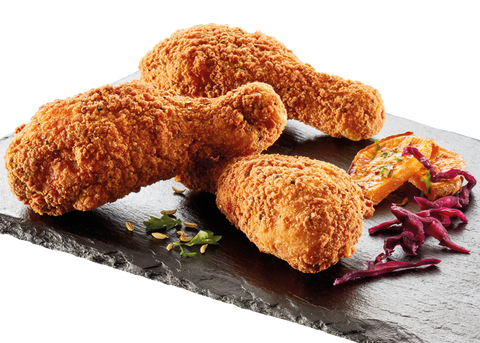 Southern fried gepaneerde drumstick