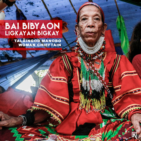 Bai Bibyaon Ligkayan Bigkay photographed with added caption stating her name title.